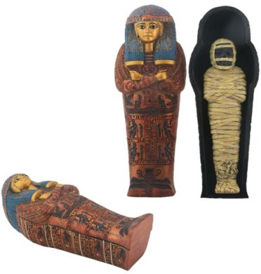 Ancient Egyptian Sarcophagus Of Maatkare Box