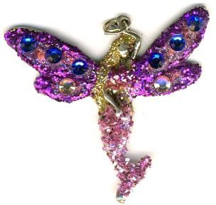 Fairy Jewelry Glittering Sea Fairy Necklace