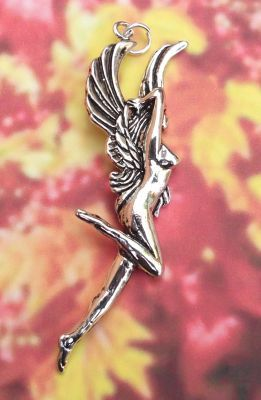 Fire Angel Jewelry Pendant - Angel Of Inspiration