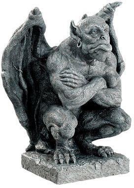 Gothic Gargoyles Deimos Gargoyle Statue Mandarava