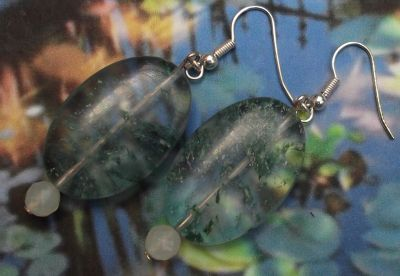 Forest Morning Gemstone Earrings