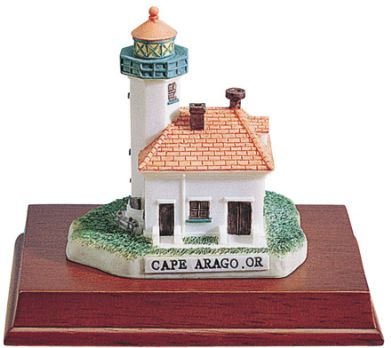 Lighthouse - Cape Arago, Or Statue