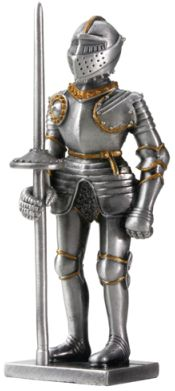 Medieval Knight Statues - English Knight - Style A