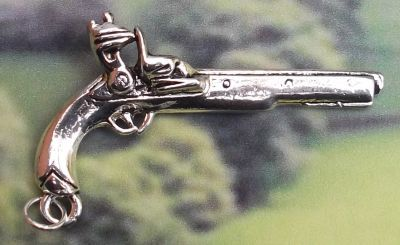 Pirate Pistol - Medium Jewelry Pendant