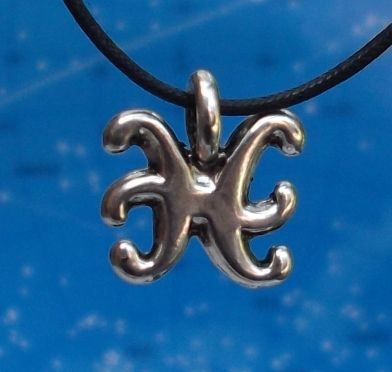 Pisces Zodiac Jewelry Pendant -Feb. 18 - Mar. 20.