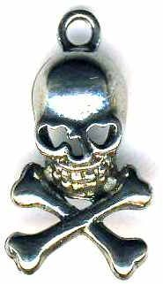Small Skull And Crossbones Pendant