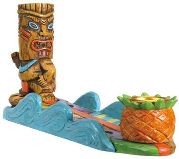Tiki Surfer Incense Burner