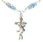 Aquamarine Wish Fairy Necklace