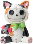 Calico Mao-Mao Cat Furry Bones Statue