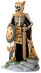 Day Of The Dead Jaguar Warrior Skeleton Statue