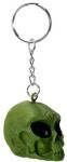 Green Alien Skull Key Chain - Single Keychain