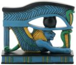 Egyptian Lion Wadjet Statue