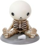 Lucky Spills Salt Boy Skeleton Statue