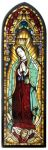 Our Lady Of Guadalupe Art Glass Panel