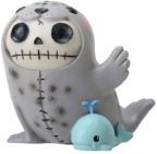 Furry Bones Rollie Seal Statue