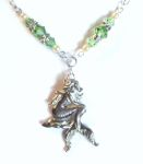 Sea Green Mythical Mermaid Necklace