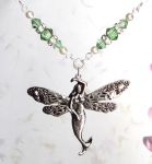 Sea Green Sea Fairy Necklace