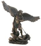 St Michael With Spear Classic Statue
