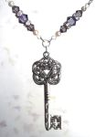 Tanzanite Key Of Mysteries Necklace