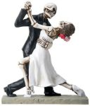 Skeleton Wedding Couple Dancing
