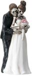 Skeleton Wedding Couple Posing