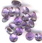 Amethyst Faceted Gemstone