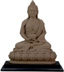 Amitabha Statue - Clay Finish