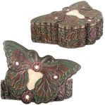 Art Nouveau - Art Deco Butterfly Lady Jewelry Box