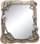 Art Deco Calla Lilly Mirror