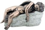 Art Nouveau - Art Deco Eros Sleeping Statue