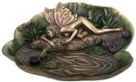 Art Deco Fairy Leaf Plate