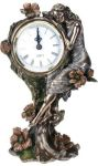 Art Deco Home Decor - Art Nouveau - Poppy Clock