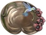 Art Nouveau - Art Deco Humming Bird Dish