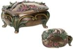 Art Deco - Art Nouveau Spring Flowers Jewelry Box