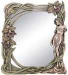 Art Deco Orchid Mirror