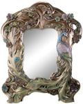 Art Nouveau - Art Deco Peacock Mirror