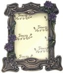 Art Deco - Art Nouveau Daisy Photo Frame
