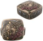 Art Nouveau - Art Deco Princess Rose Jewelry Box