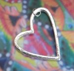 Asymmetrical Heart Jewelry Pendant
