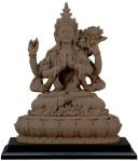 Avalokiteshvara Statue - Clay Finish