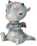 Baby Dragon Sitting Statue