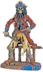 Black Beard Pirate Statue