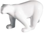 Bone China Polar Bear Statue