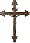 Bronze Finish Crucifixion Of Christ Statue