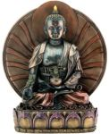 Bronze Finish Medicine Buddha  - Large Statue