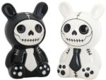 Bun-bun Bunny Salt N Pepper Shaker - White
