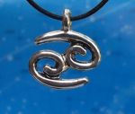 Cancer Zodiac Jewelry Pendant -Jun 21 - Jul 22/23.