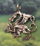 Celtic Prapheron Dragon Jewelry Pendant