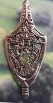 Celtic Protection Shield Jewelry Pendant