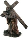 Christian Statues Jesus Carrying Cross Statue